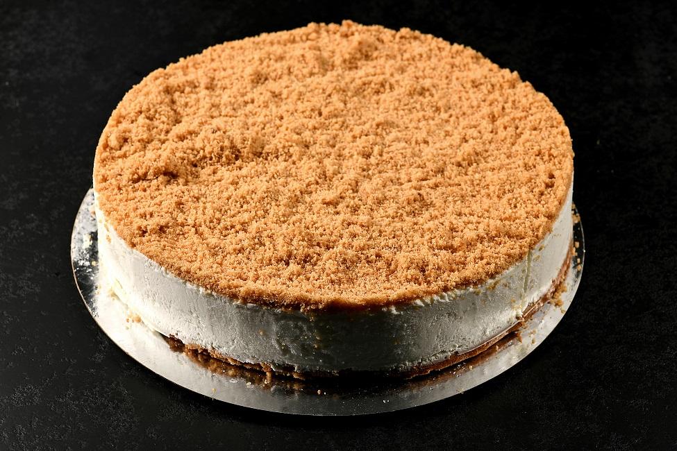 עוגת גבינה ופירורים