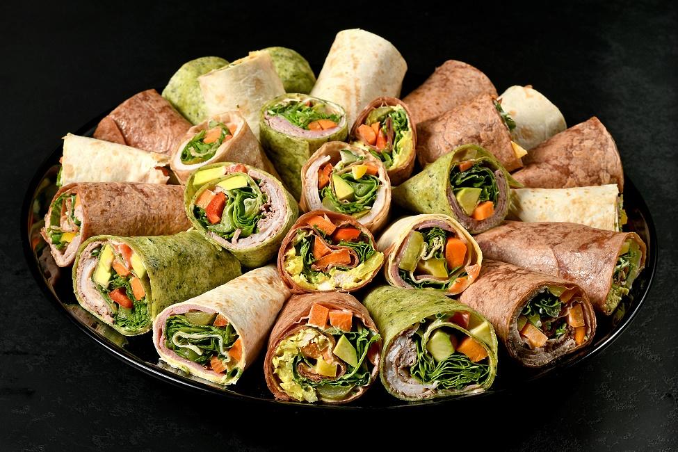 מגש אירוח טורטיות